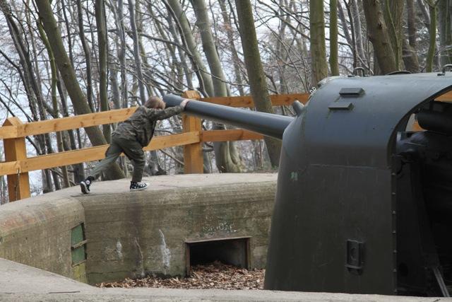 Gdynia Redłowo - Bateria Artylerii Stałej