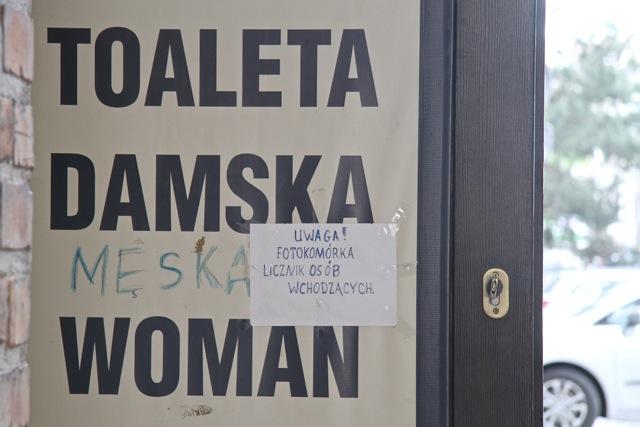 Gdańsk - toaleta