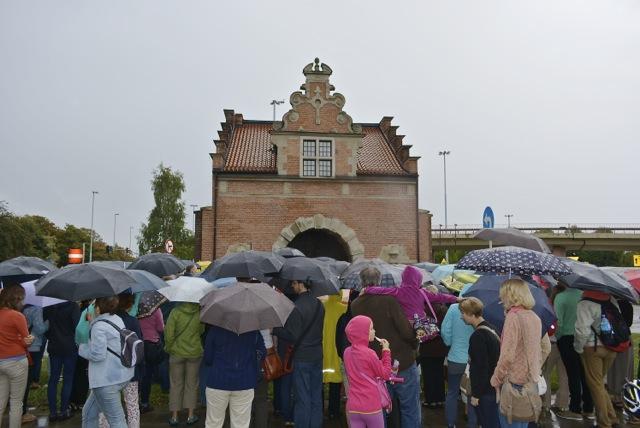 Brama Żuławska spacer