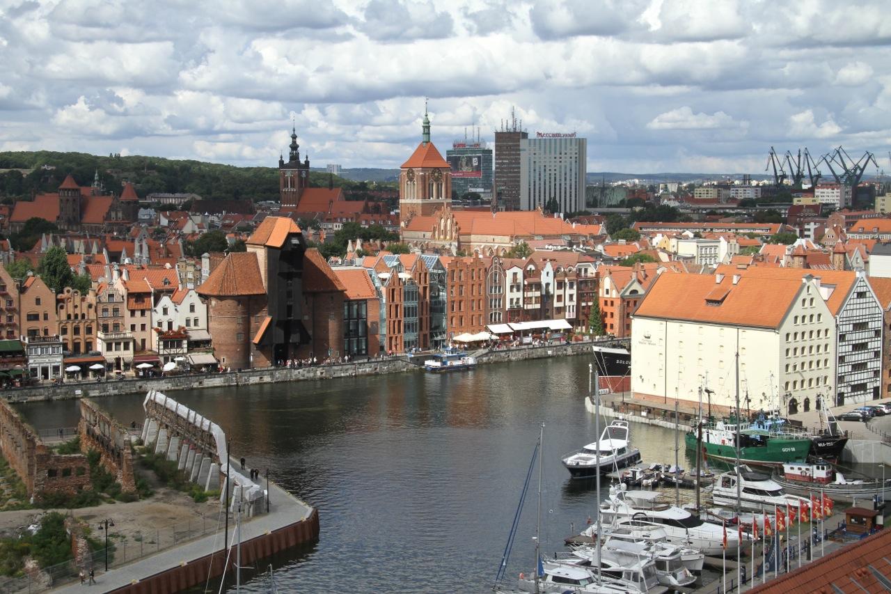 Marina Club Hotel - panorama Gdańska