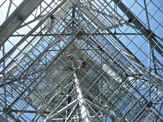 wieża widokowa na Górze Donas