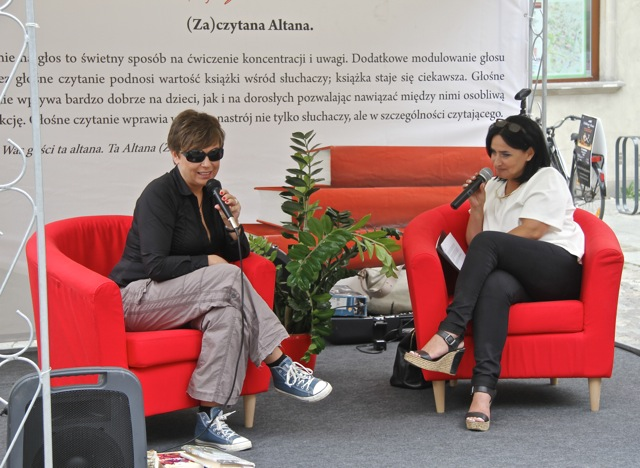 Sylwia Kubryńska i Bożena Olechnowicz
