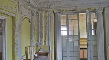 Gdańsk Wrzeszcz: Zrujnowana willa loży masońskiej*