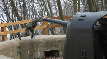 Spacer po Gdyni. Bateria artyleryjska w Redłowie