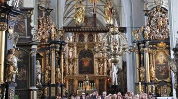 Tomasz Cecot o ołtarzu w kościele św. Mikołaja w Gdańsku