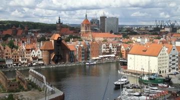 Marina Club Hotel – panorama Gdańska z dachu hotelu [galeria]