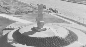 Pomnik na Westerplatte [archiwalne zdjęcia]