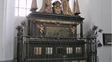 O pomnikach w Kościele Mariackim