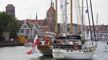 Baltic Sail Gdańsk 2014 – Bitwa Morska i parada żaglowców [zdjęcia]