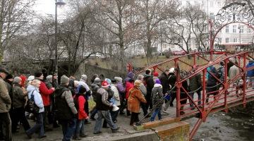 Mikołajkowy spacer od Bramy Wyżynnej do Piaskowni