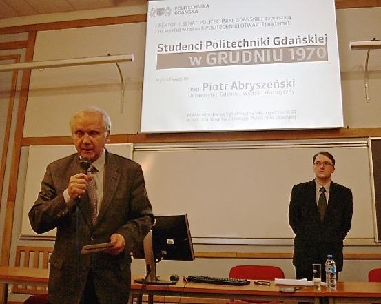 Od lewej: Waldemar Wardencki i Piotr Abryszeński / Fot. Dominika Ikonnikow