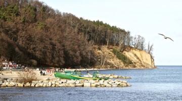 Orłowo – gdyńska riviera przy ujściu rzeki Kaczej
