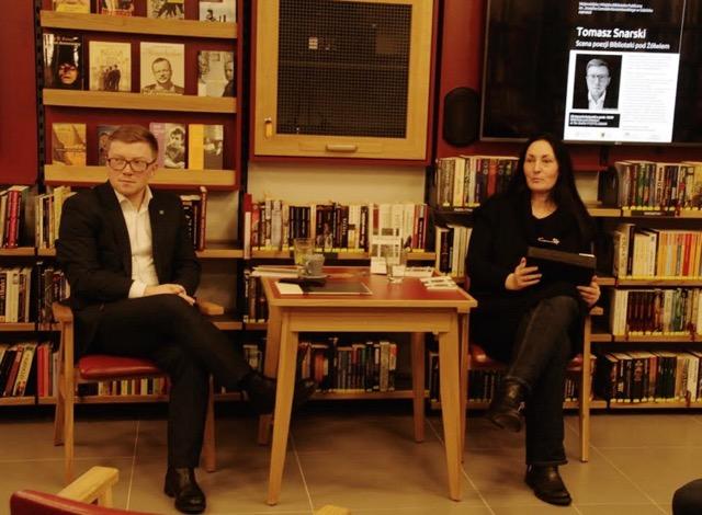 Tomasz Snarski w Bibliotece pod Żółwiem