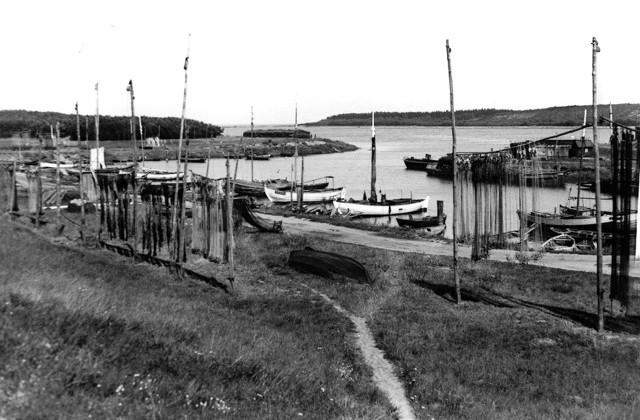 Port w Schiewenhorst w latach Wolnego Miasta Gdańska
