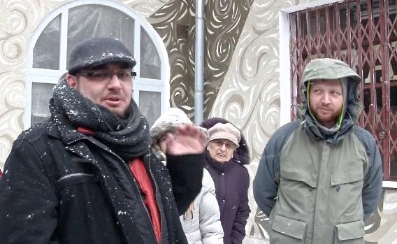 Od lewej: Paweł Mrozek i Jan Kołodziej