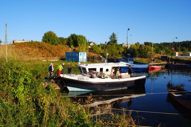 Port rybacki w Świbnie – 2013 r.