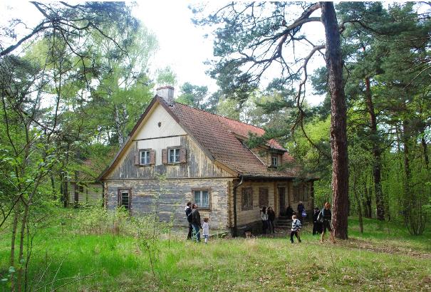 Modrzewiowy letni dom byłego gauleitera Gdańska A. Forstera – 2010 r.