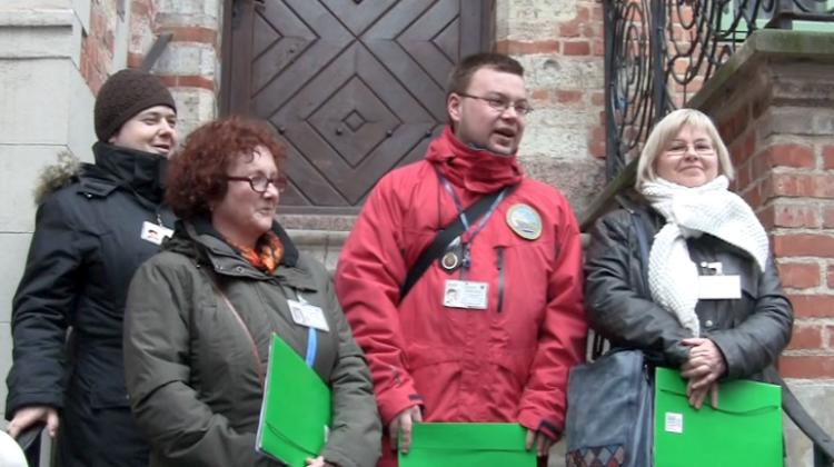 Od lewej: Joanna Kruszewska, Ewa Czerwińska, Arkadiusz Zygmunt, Ewa Jaroszyńska