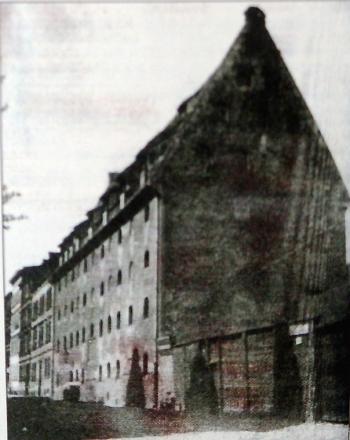 Spichlerz, ul. Mysia. Żydzi w Gdańsku