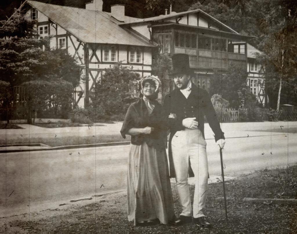Na spacer zapraszają: Ewa Kowalska i Aleksander Masłowski
