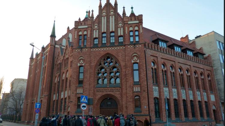 Bibiloteka Gdańska PAN /Fot. Grzegorz Redlarski