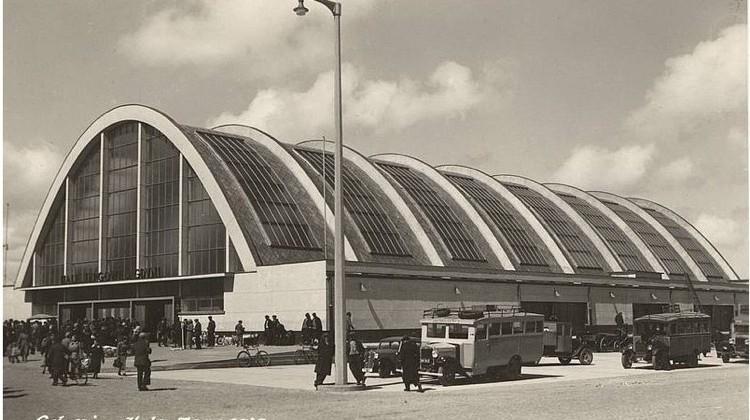 Hala Targowa w Gdyni, lata 1938-39, Fot. ze zbiorów Muzeum Miasta Gdyni