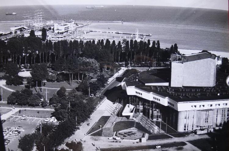 Teatr Muzyczny, Plac Grunwaldzki, 1985 r. Źrodło fotopolska.eu