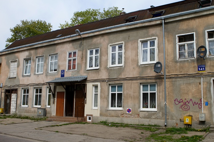 Ulica Kartuska 141. Gdańsk