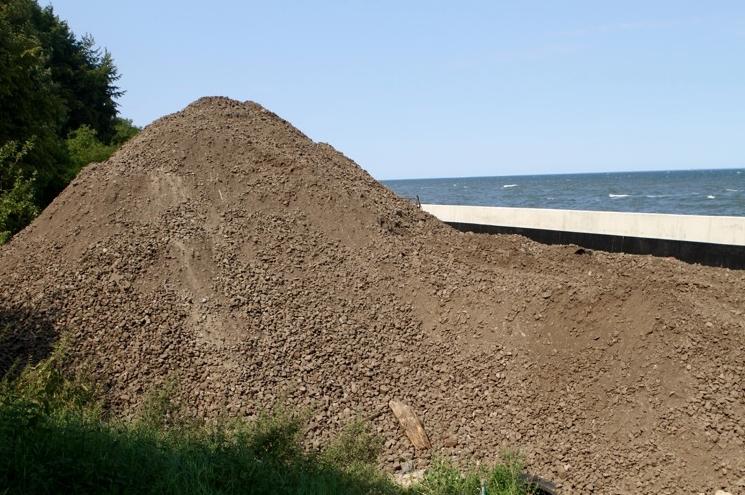 Gdynia Oksywie - bulwar w budowie