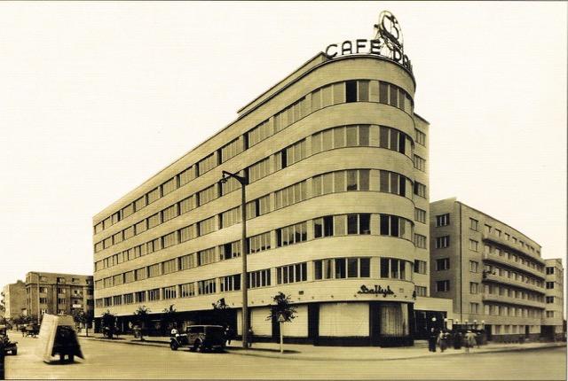 Budynek Zakładu Ubezpieczeń Pracowników Umysłowych, 1938 r., Fotopolska