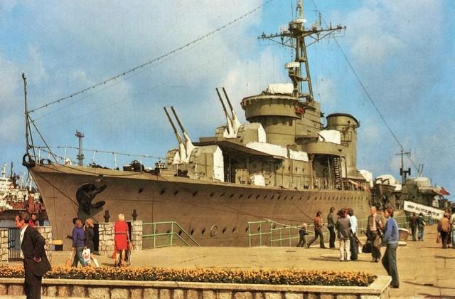 Lata 1976-1978 , Okręt Wojenny ORP Błyskawica, Źródło fotopolska.eu