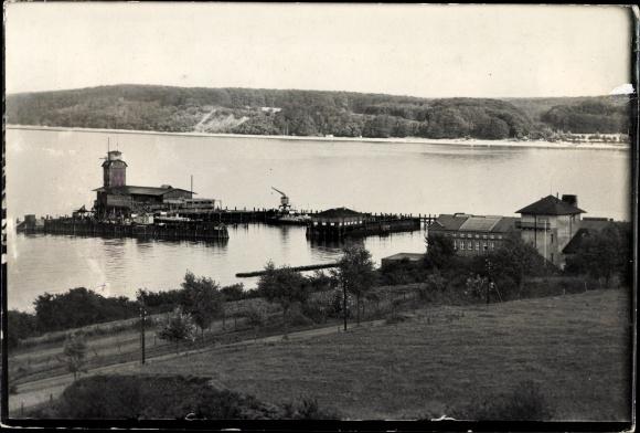 Torpedowy zakład doświadczalny, Torpedo Versuchs Anstalt w Eckernförde, Niemcy, ok. 1937 r.