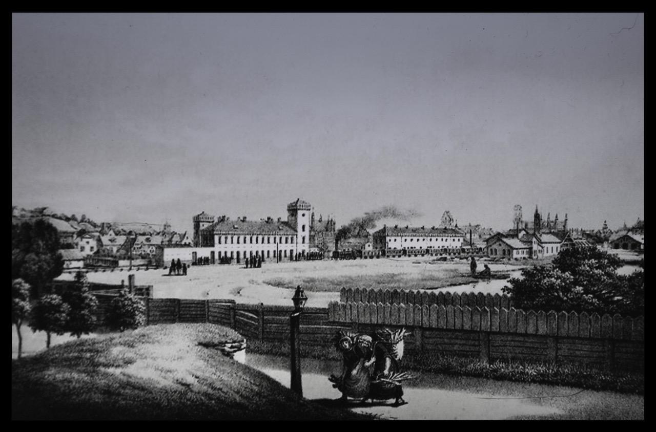 Dworzec Brama Nizinna Conrad Anton Mann, 1852