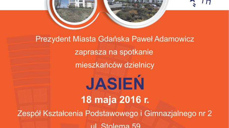 Spotkanie obywatelskie Jasień