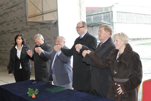 Tunel pod Martwą Wisła - podpisanie umowy na budowę