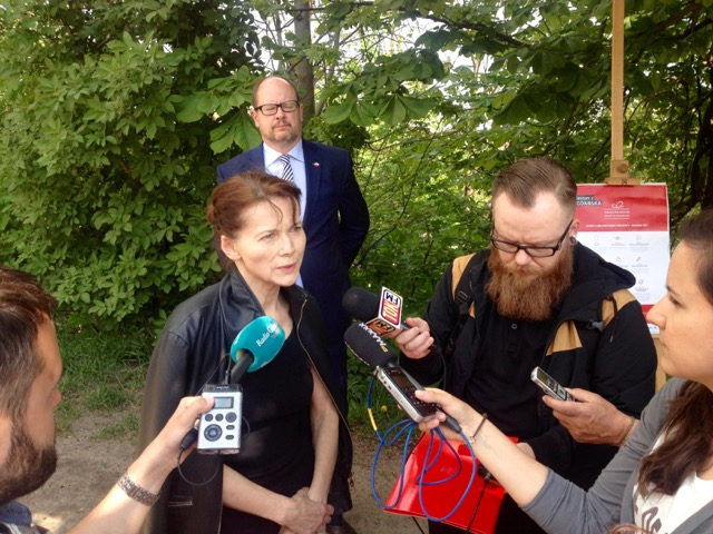 Krystyna Ejsmont ze Stowarzyszenia Waga