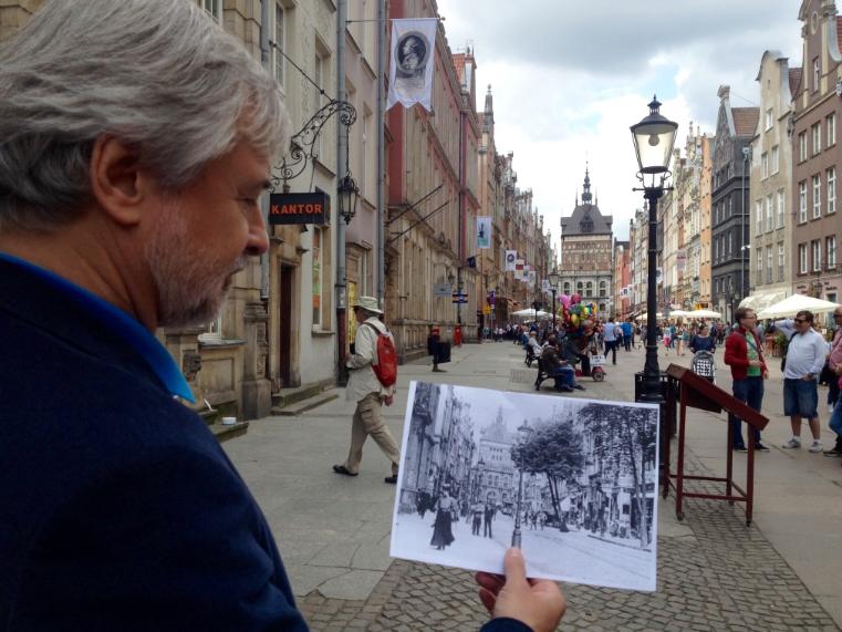 Paweł Huelle - spacer po Gdańsku