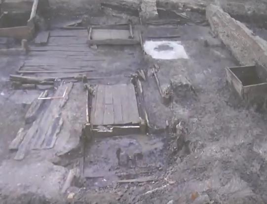 Prace archeologiczne przy ul. Długie Ogrody
