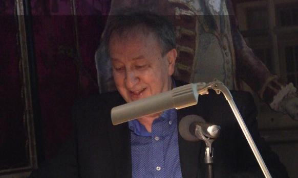Prof. dr hab. Joachim Zdrenka w Domu Uphagena