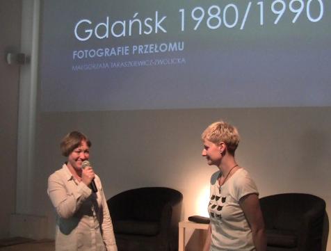 Od lewej: Dominika Ikonnikow i Małgorzata Taraszkiewicz-Zwolicka