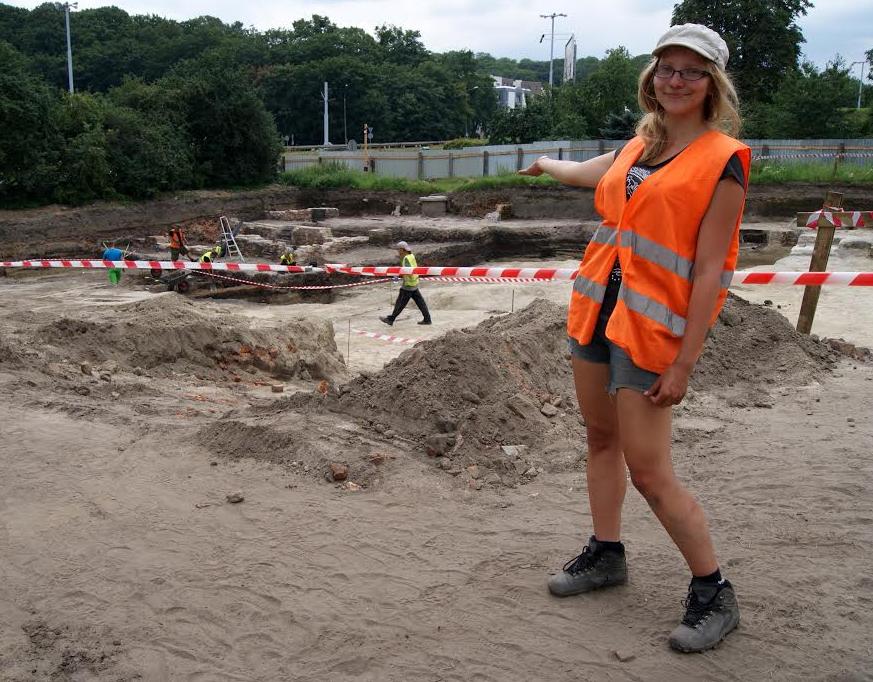 Agnieszka Naleźny - archeolog