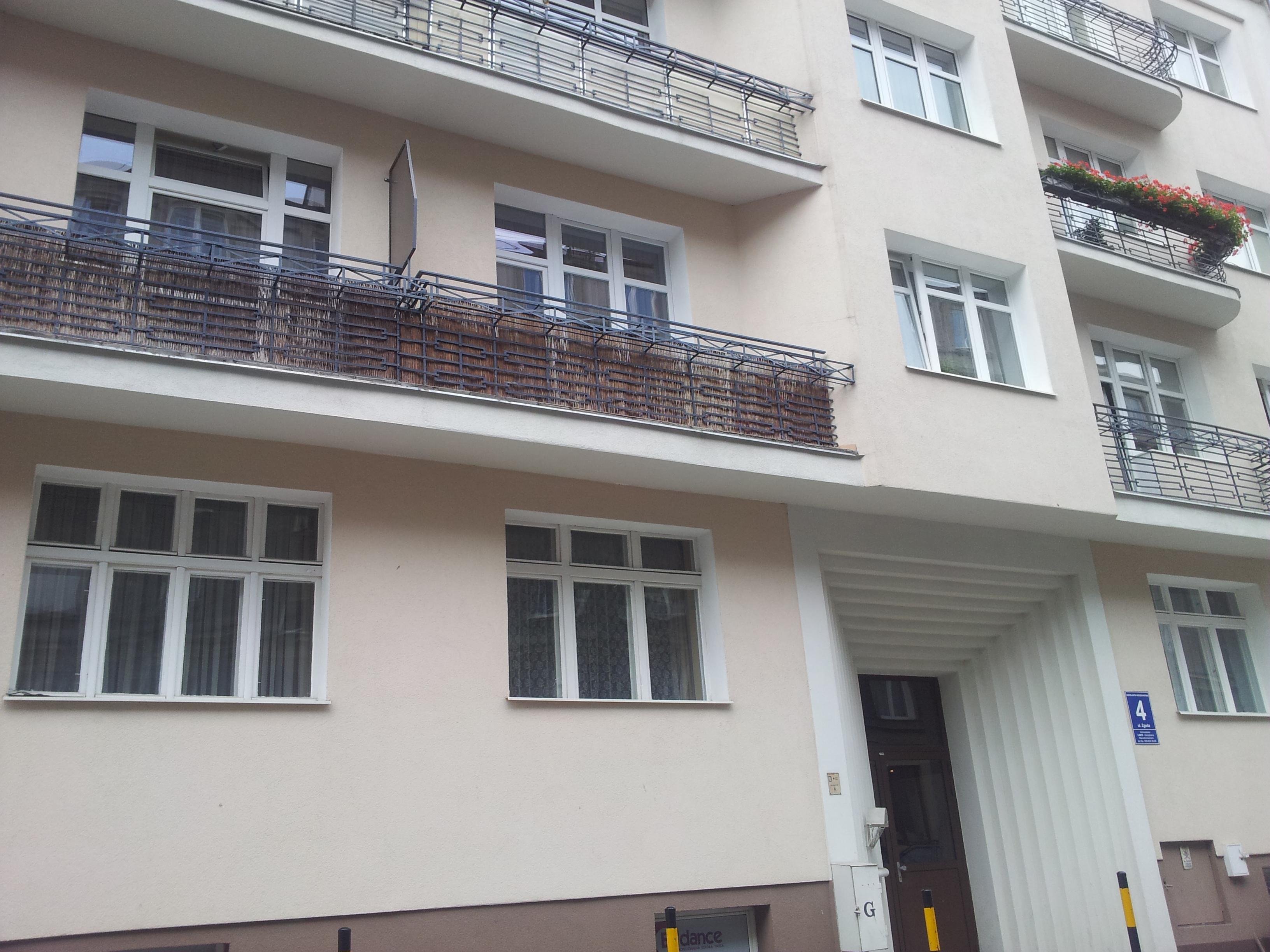Kamienica przy ul. Zgoda 4 / Fot. A.Sadowska
