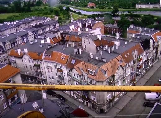 Dolne Miasto z góry