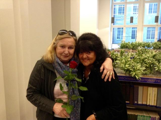 Po lewej: Anna Szczepuła
