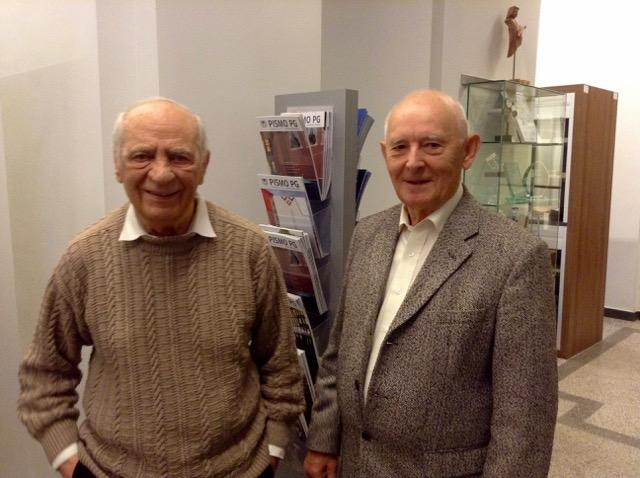 Od lewej: Tadeusz Umiński i Zdzisław Sikorski