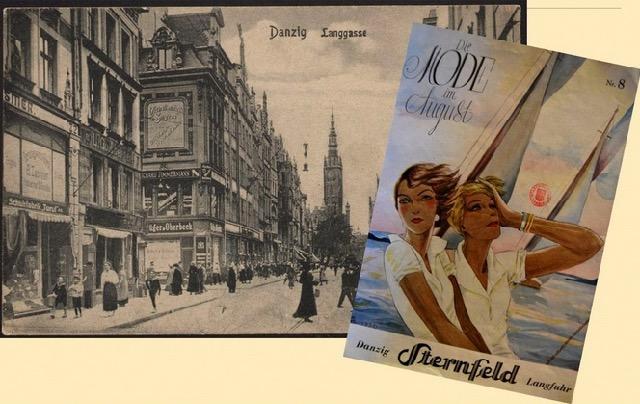 Witryny sklepowe przedwojennego Gdańska
