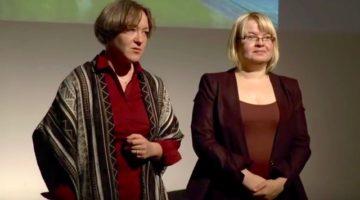 Od lewej: Dominika Ikonnikow i Magdalena Madeja-Grzyb