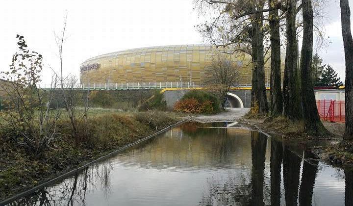 Stadion piłkarski w Gdańsku