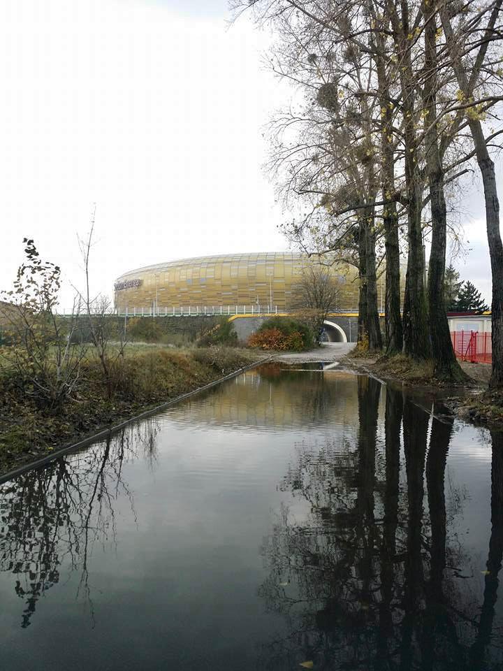 Gdańsk Letnica - stadion piłkarski