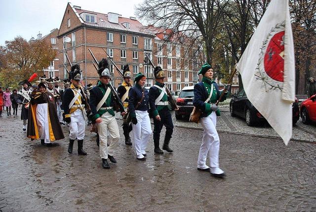 Parada Niepodległości w Gdańsku 2016. Fot. Krzysztof Dolatko